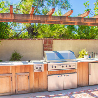 outdoor kitchen yorba linda ca
